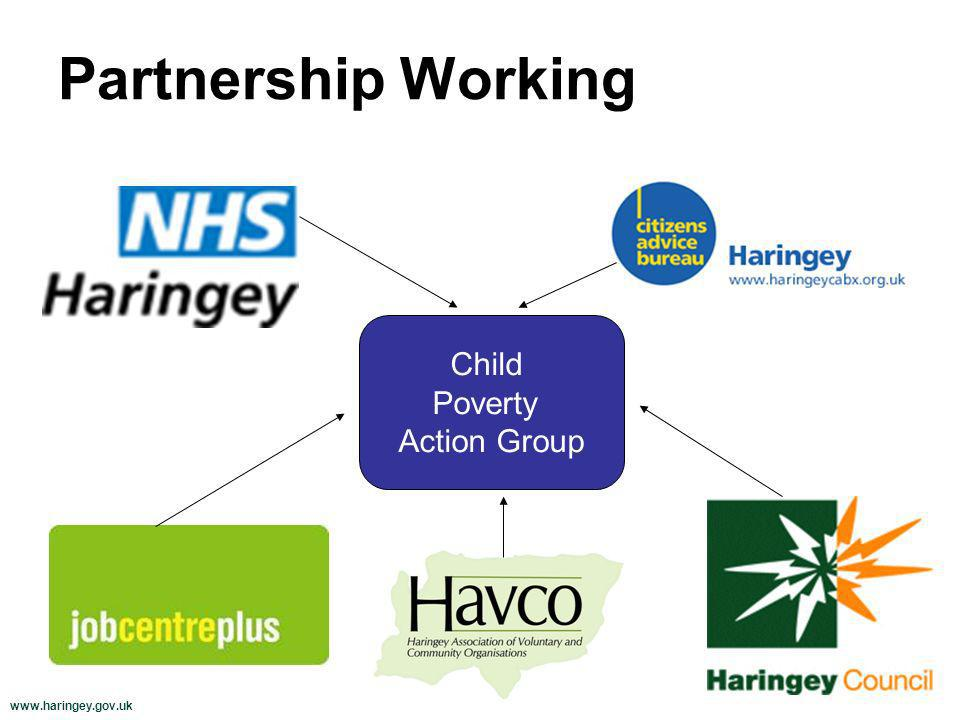 www.haringey.gov.uk Partnership Working Child Poverty Action Group