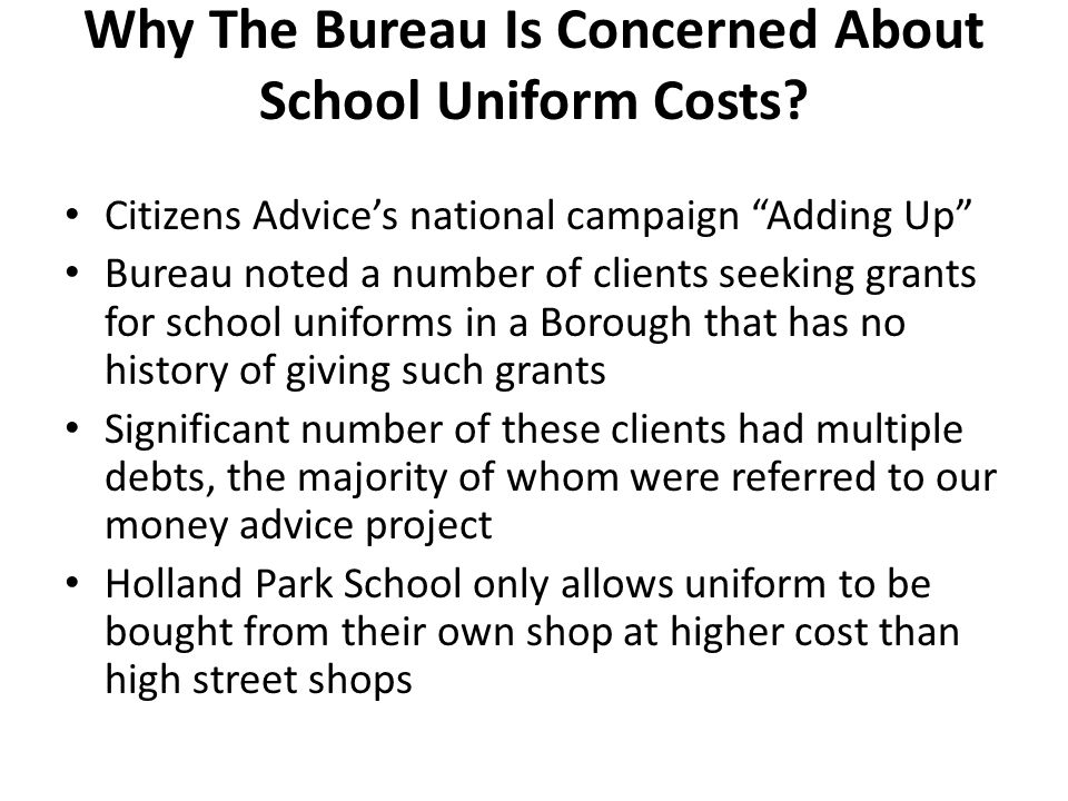 What Has The Bureau Done.
