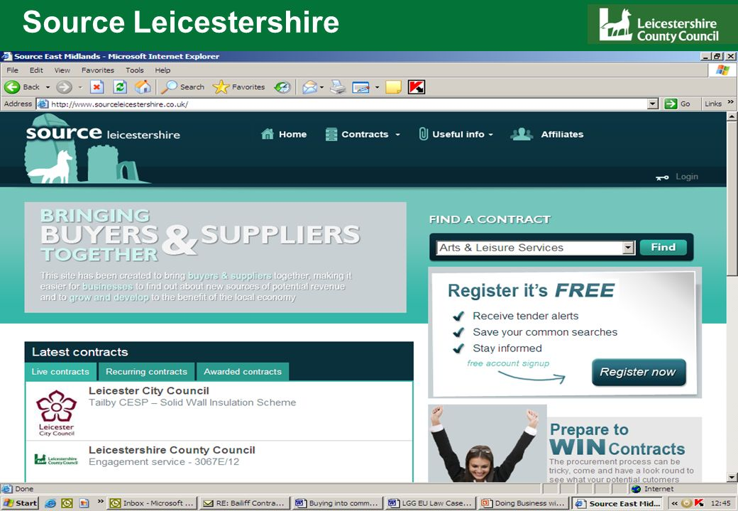 Source Leicestershire