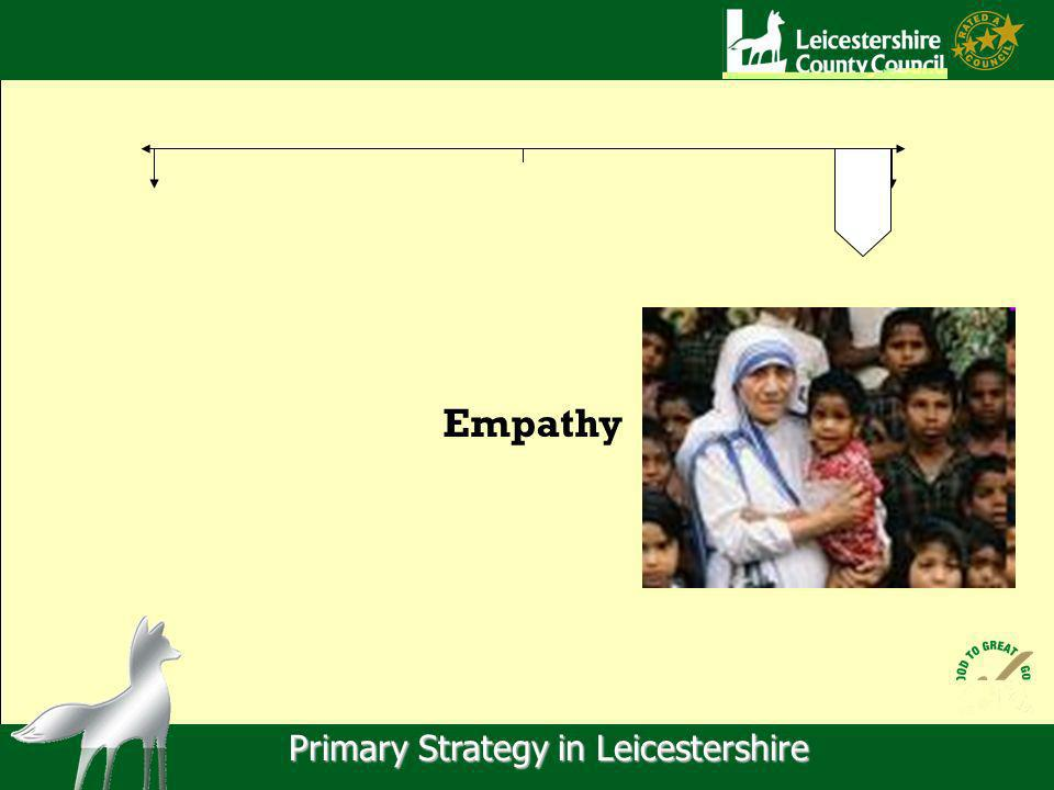Primary Strategy in Leicestershire Empathy