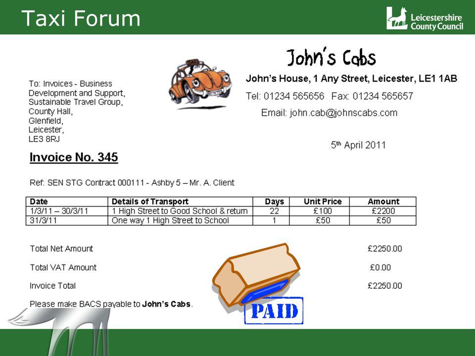 Taxi Forum