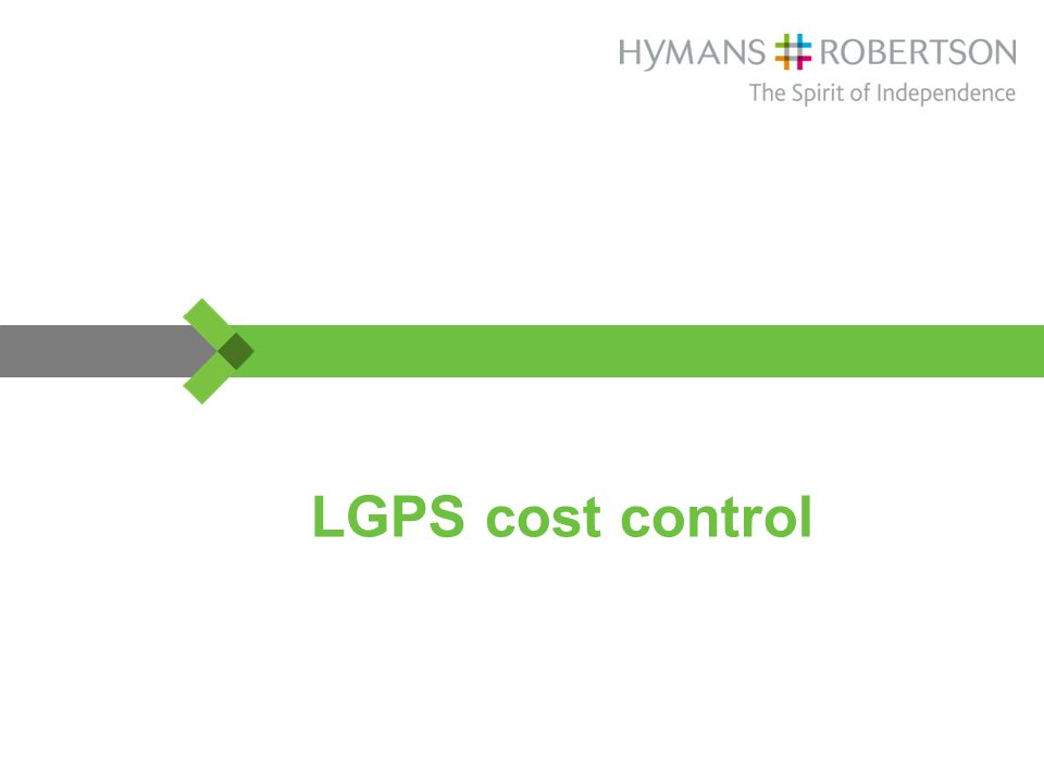 LGPS cost control