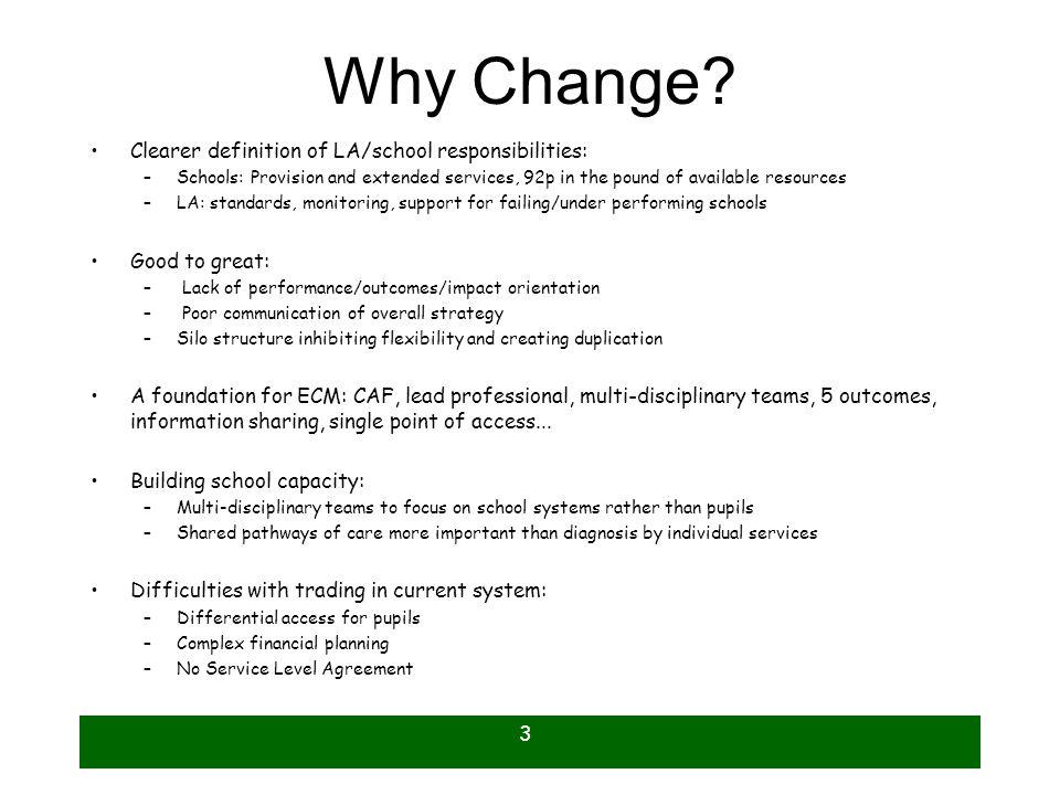 3 Why Change.