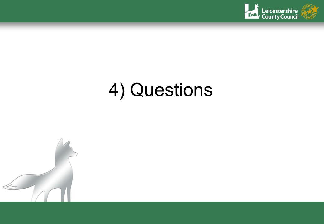 4) Questions