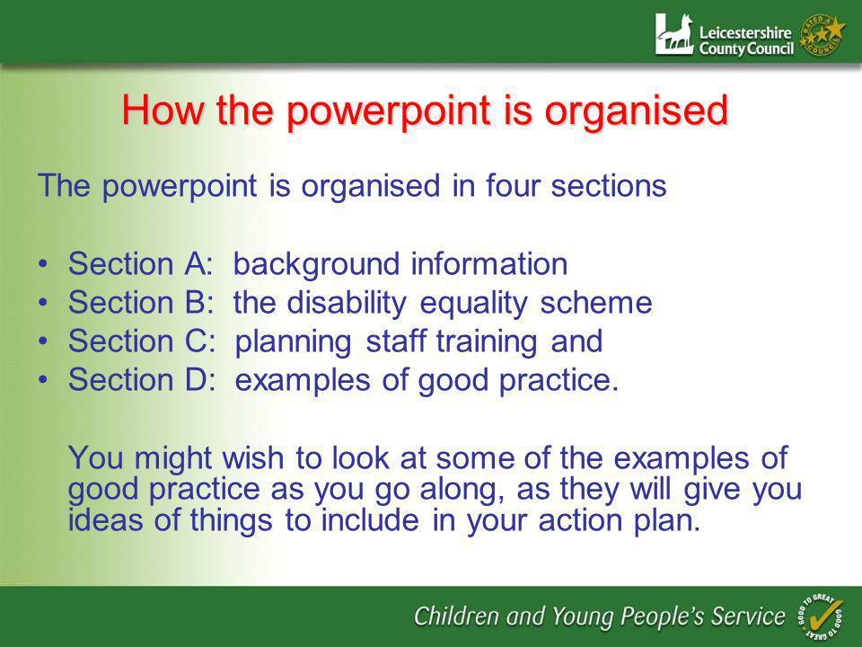 Key Factors for Effective Reasonable Adjustments Exemplified in CPD DVDs