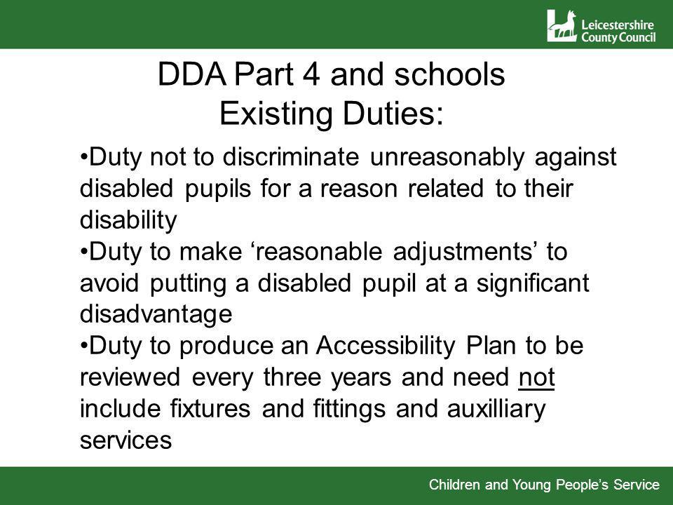 Preparing your Disability Equality Scheme This section of the powerpoint takes you through the Disability Equality Scheme section by section.