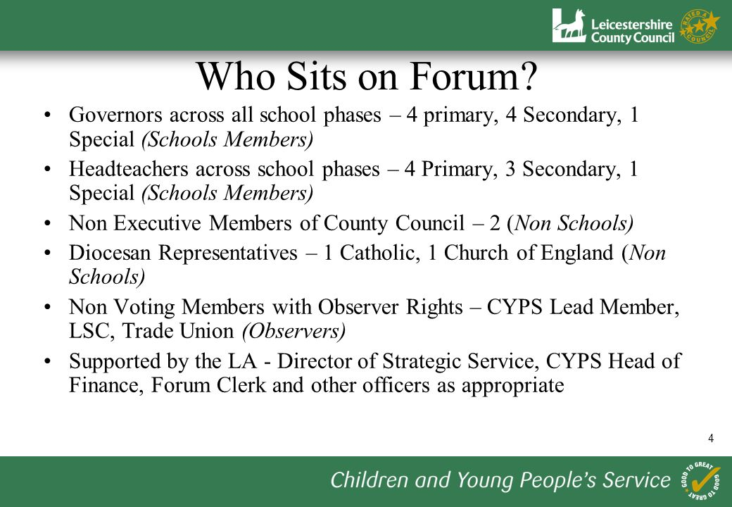 4 Who Sits on Forum.