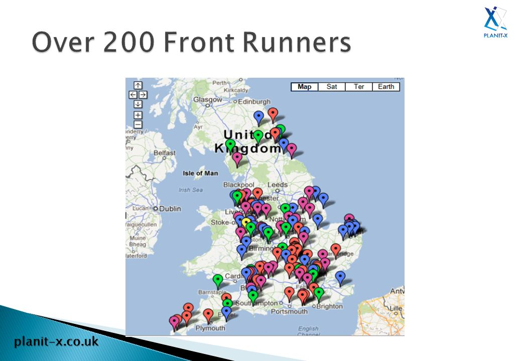 Over 200 Front Runners planit-x.co.uk