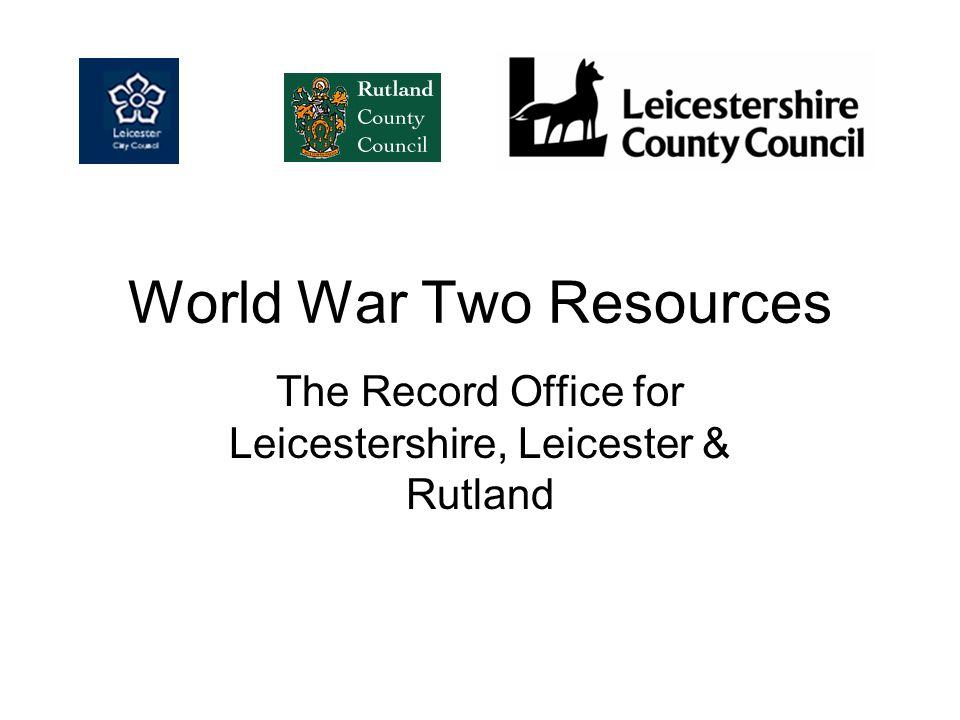 Leicester civilian war dead-page 4 Continuation of civilian war dead for the city of Leicester Reference DE15D70