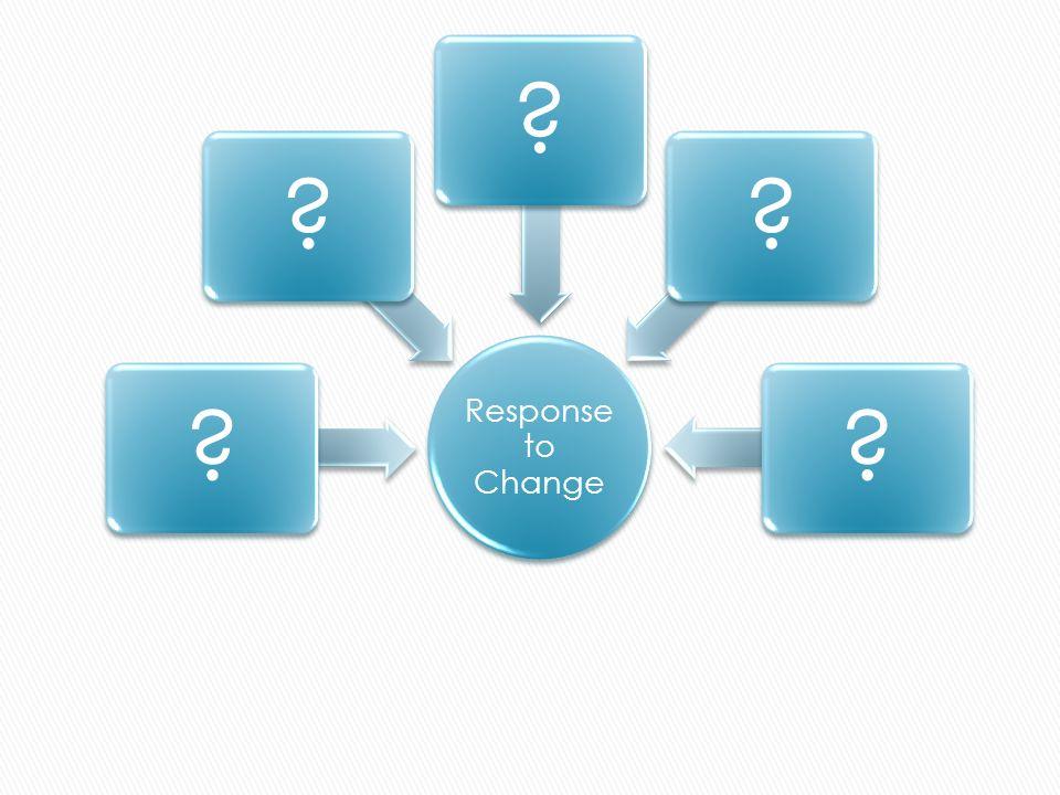 Response to Change