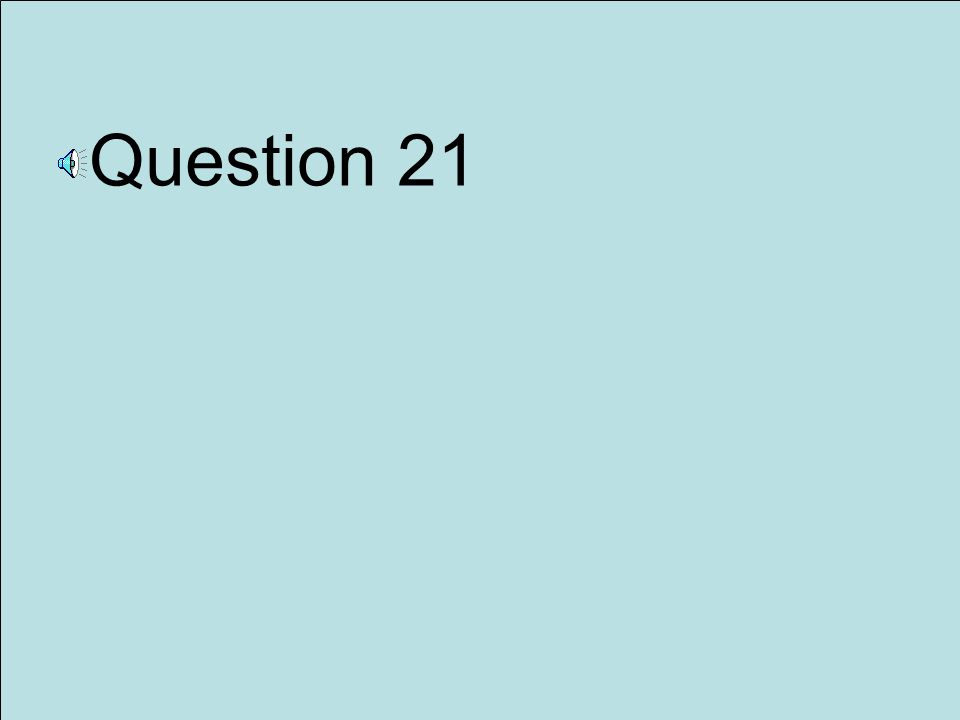 Question 20 32