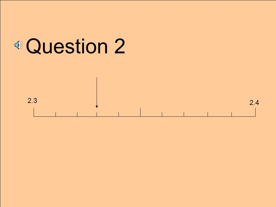 Question 2 2.3 2.4