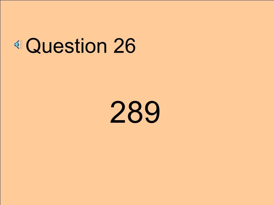 Question 25 105