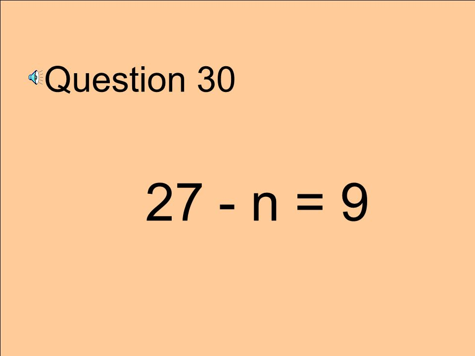 Question 29