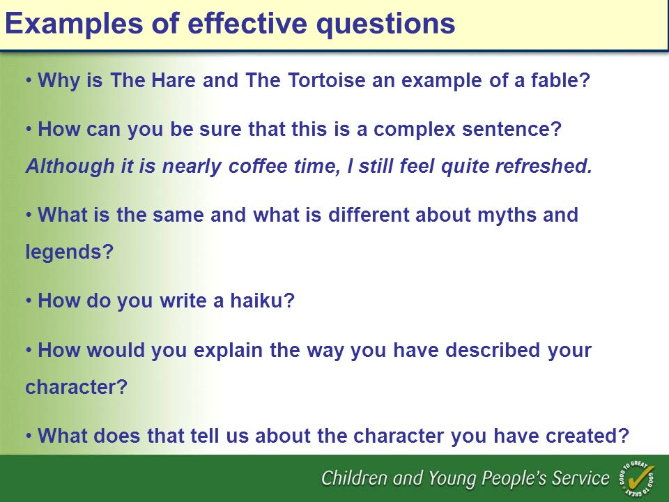 Why is The Hare and The Tortoise an example of a fable? How can you be sure that this is a complex sentence? Although it is nearly coffee time, I stil