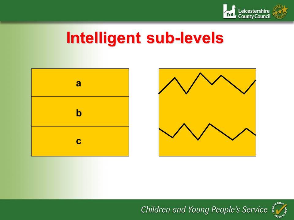 Intelligent sub-levels c a b