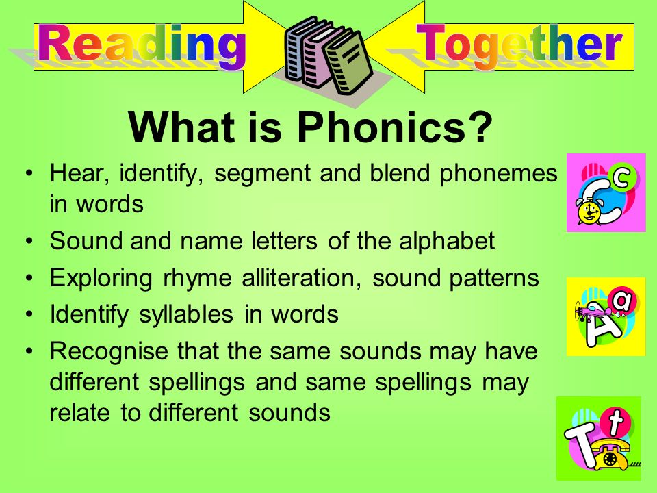 It is widely agreed that phonic work is an essential part, although not the whole picture of what it takes to become a fluent reader and skilled writer……and should be set within a broad rich language curriculum.