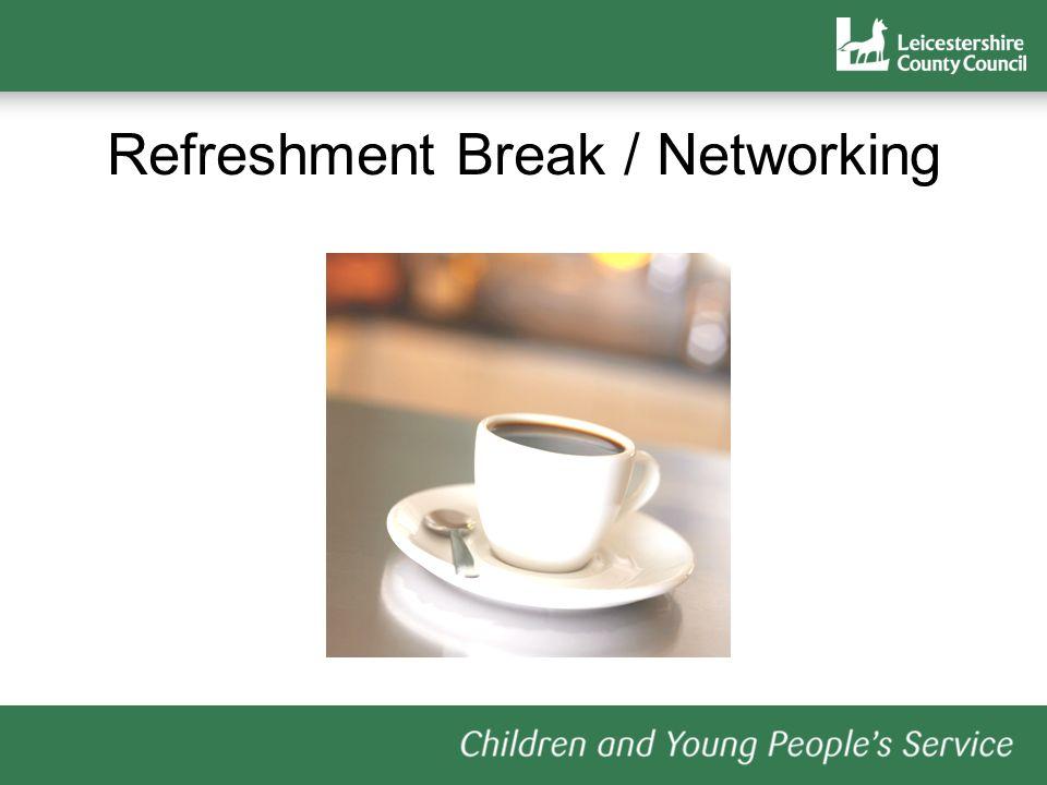 Refreshment Break / Networking