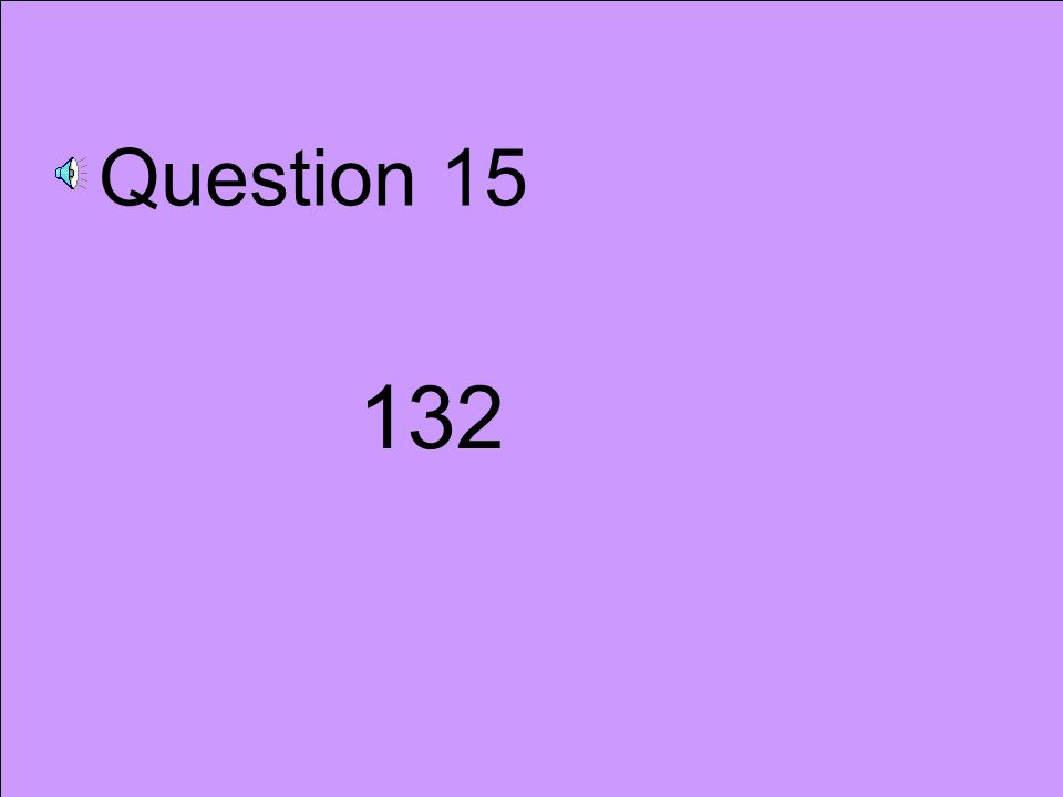 Question 14 £45