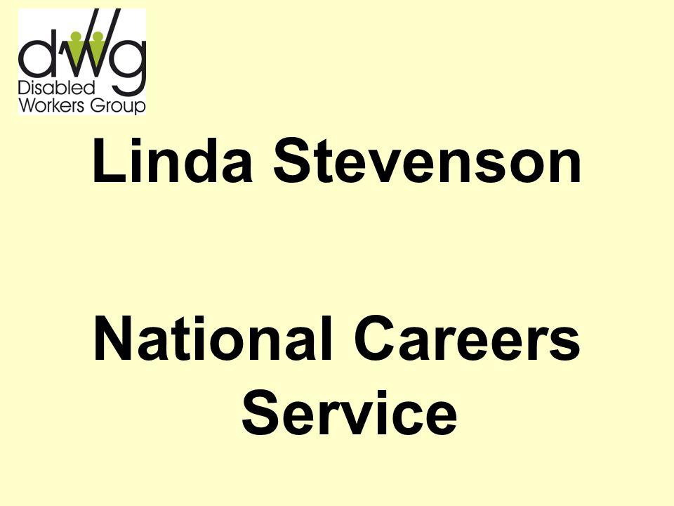 Linda Stevenson National Careers Service