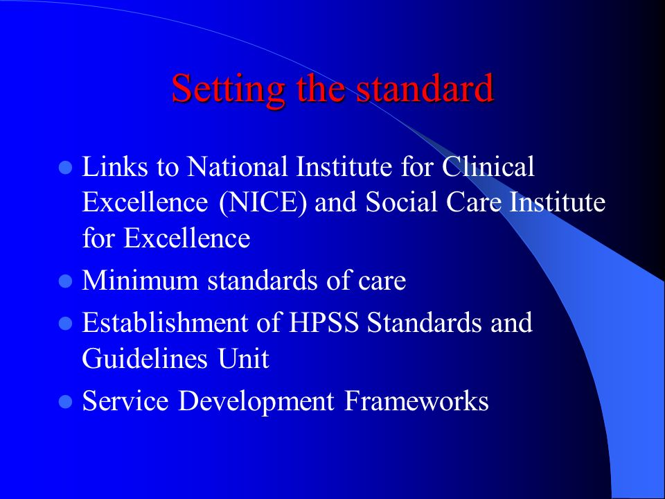 The HPSS (Quality, Improvement and Regulation) (NI) Order 2003 Statutory Duty of Quality on a par with statutory duty in relation to financial steward