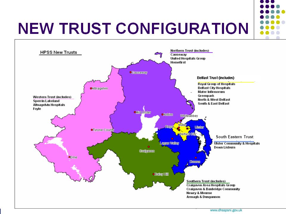 NEW TRUST CONFIGURATION South Eastern Trust