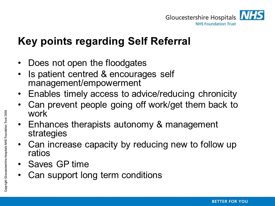 Evaluation Questionnaire surveys were sent to participating GPs and patients who had been managed by Physio Direct and had been discharged from the service at 3 months and 14 months.