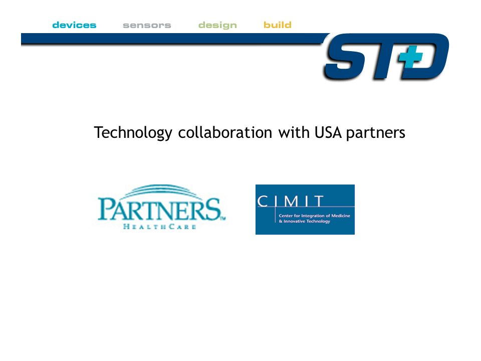 Technology collaboration with USA partners