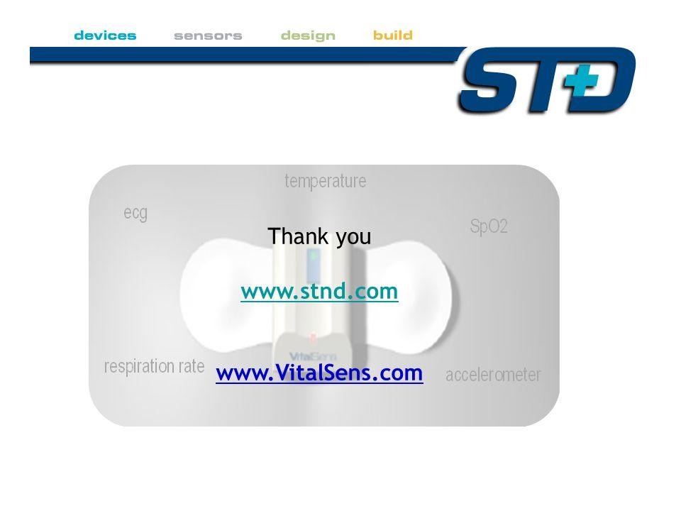 Thank you www.stnd.com www.VitalSens.com
