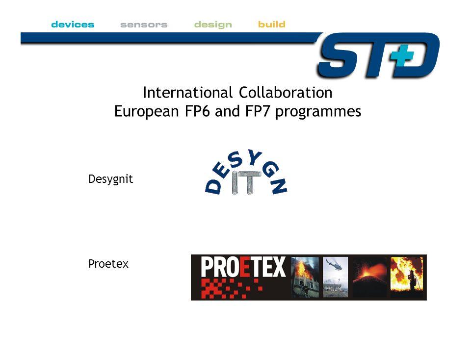 Desygnit Proetex International Collaboration European FP6 and FP7 programmes