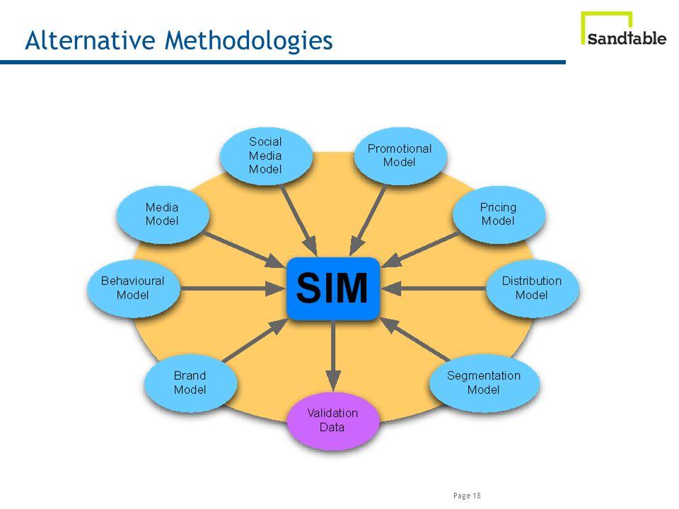 Page 18 Alternative Methodologies