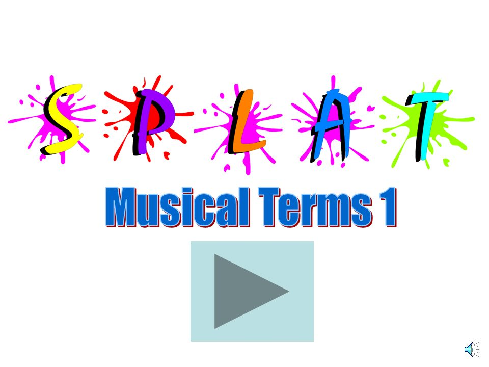 Correct ! Next The Music Teachers Resource Site www.mtrs.co.uk