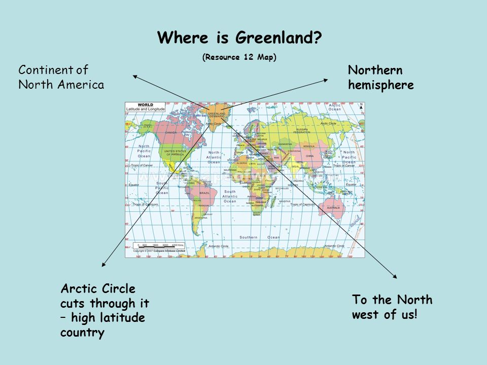Where is Greenland.
