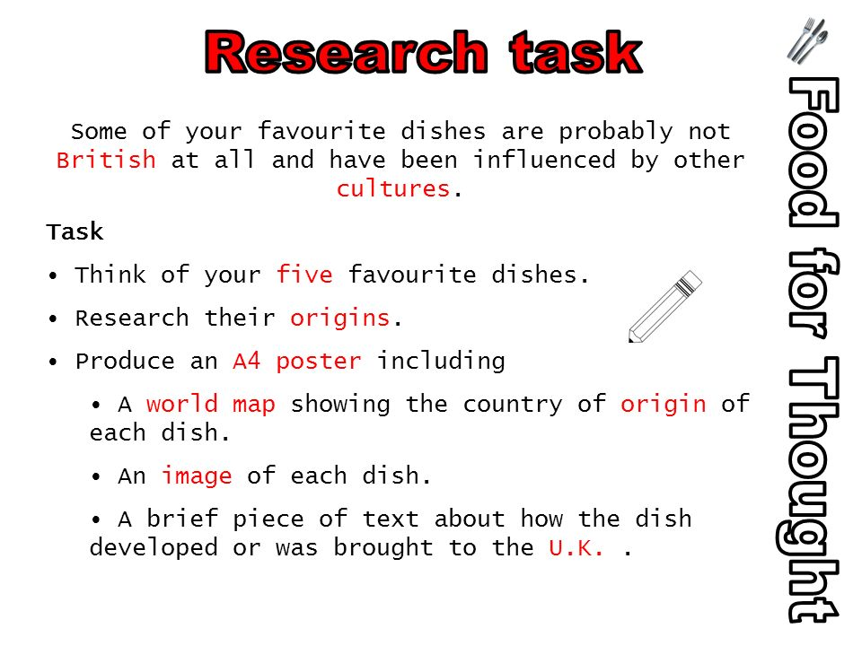 Some of your favourite dishes are probably not British at all and have been influenced by other cultures.