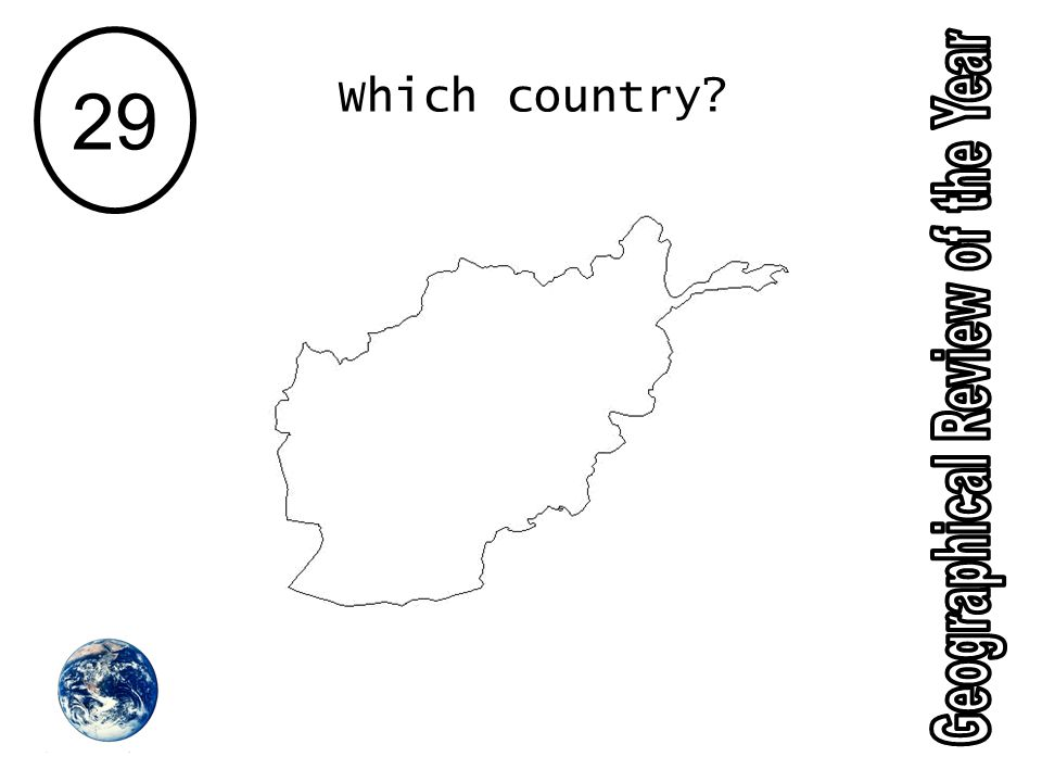 29 Which country?