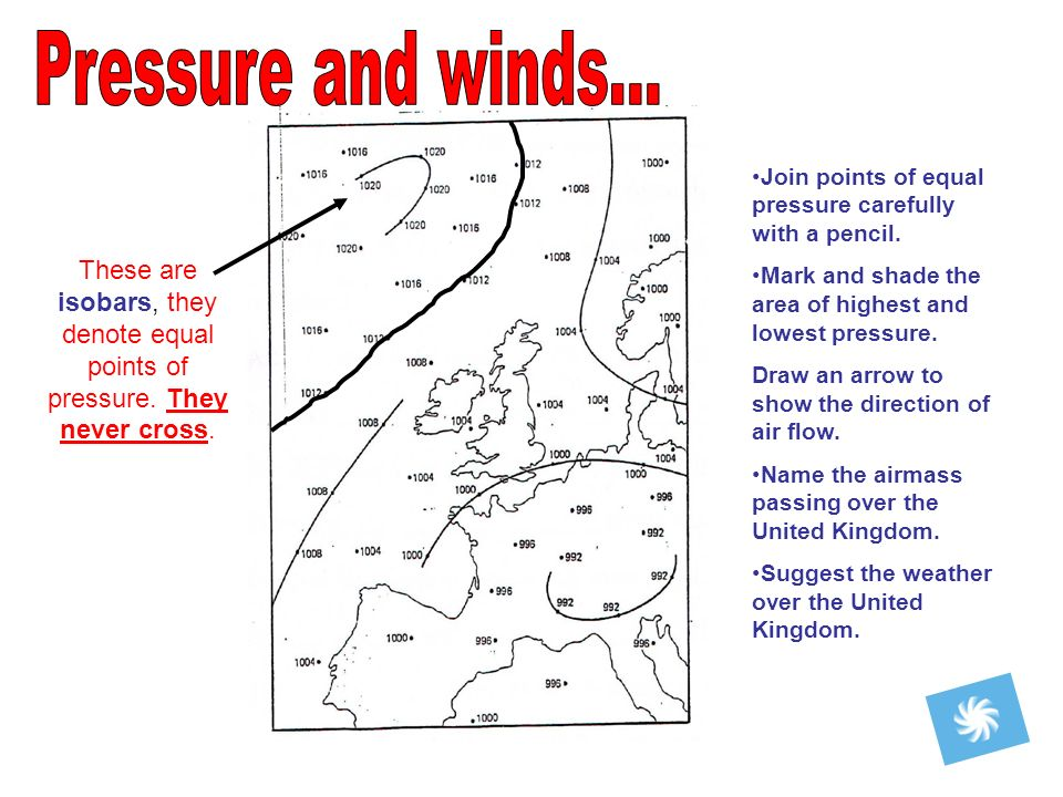 These are isobars, they denote equal points of pressure.