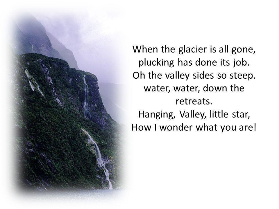 Adapt lyrics to nursery rhymes or songs. Hanging Valley you Little Star.