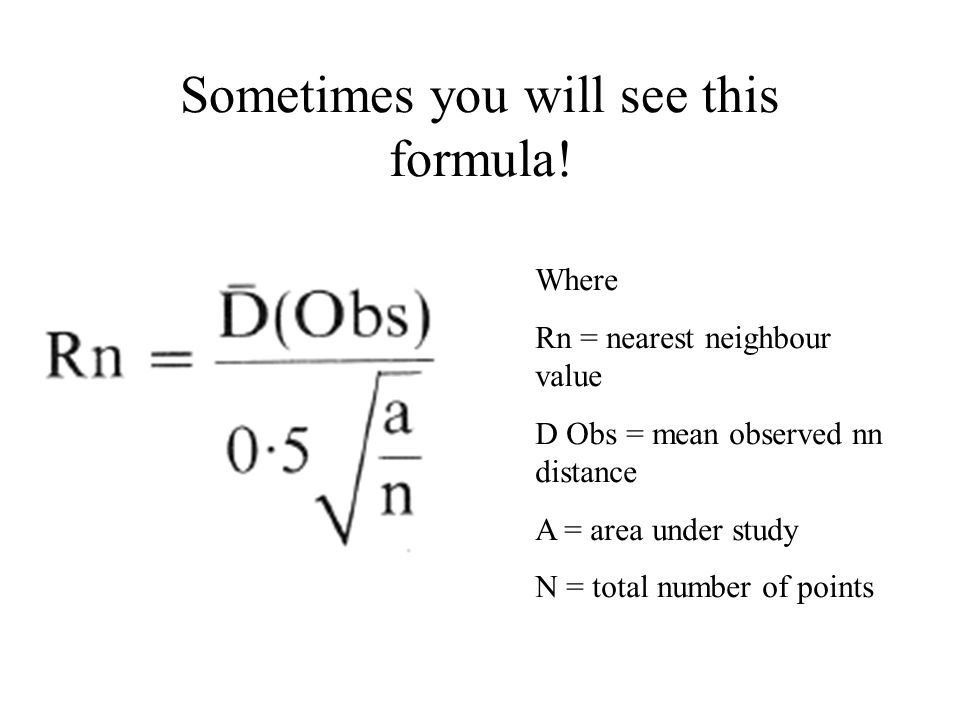 But we will use this formula.