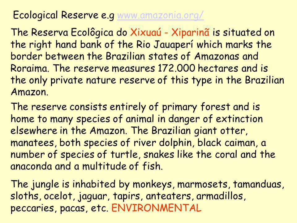 To save the Amazon Forest it is imperative to establish the supremacy of the United Nations Convention on Biological Diversity over the World Trade Organization Trade Related Intellectual Property Rights (TRIPS) agreement ENVIRONMENT v.