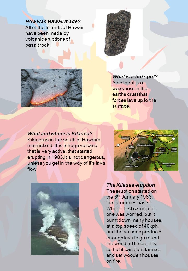 How have people been affected by the eruption of Kilauea since 1983.