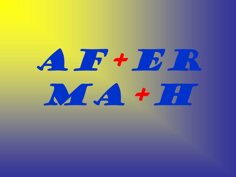 Af+er Ma+h
