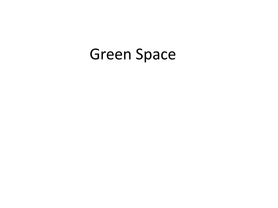 Green space is all of the accessible green places we can visit and enjoy.
