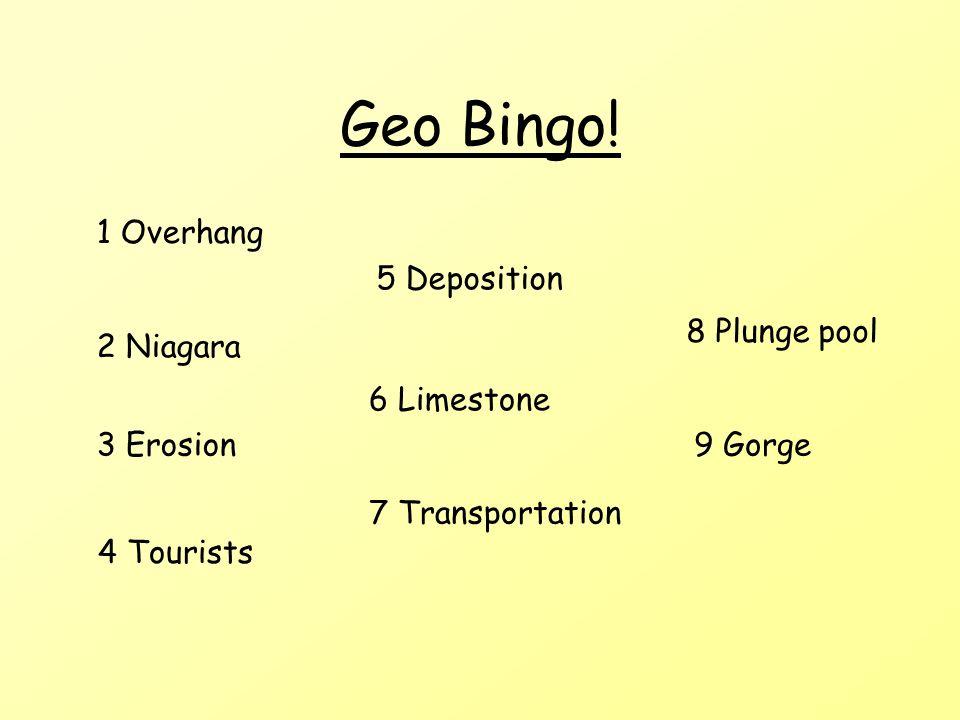 Geo Bingo.
