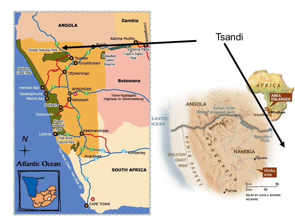 Tsandi – Namibia … a country in the south west of Africa