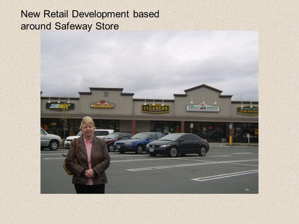 New Retail Development based around Safeway Store