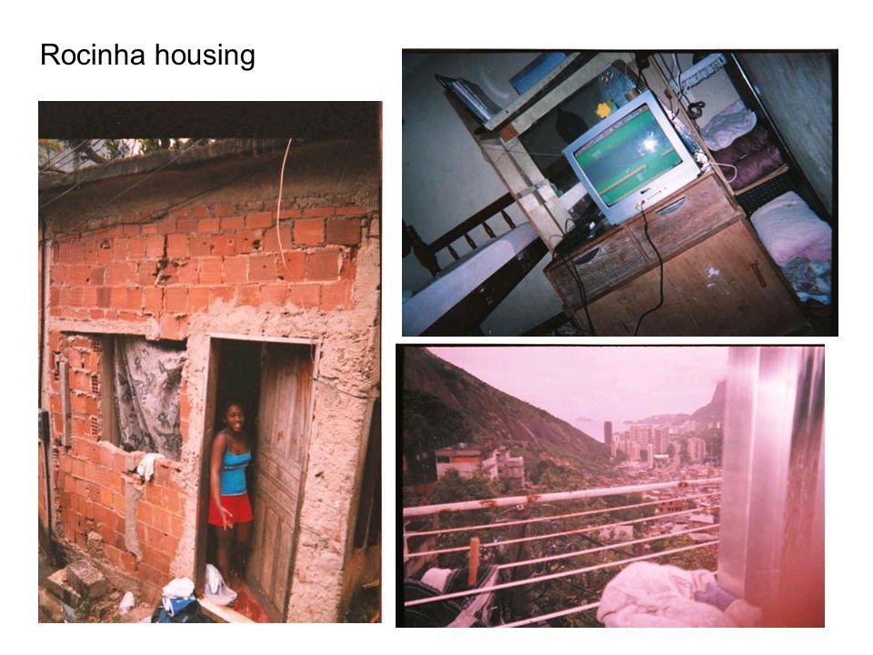 Rocinha housing