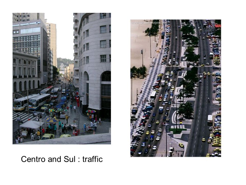 Copacabana and Ipanema