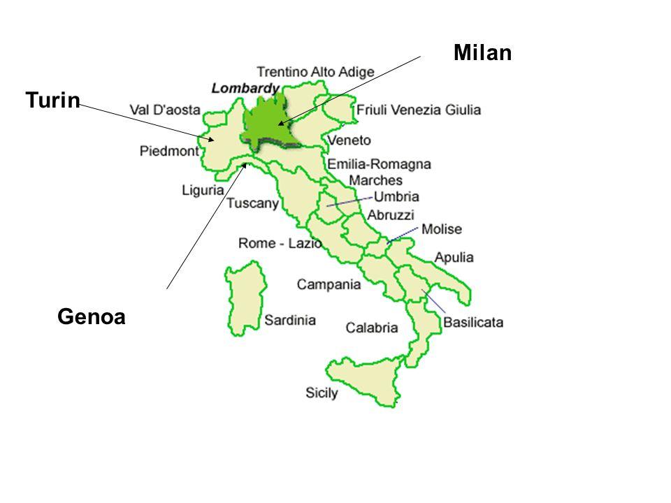 Turin Milan Genoa