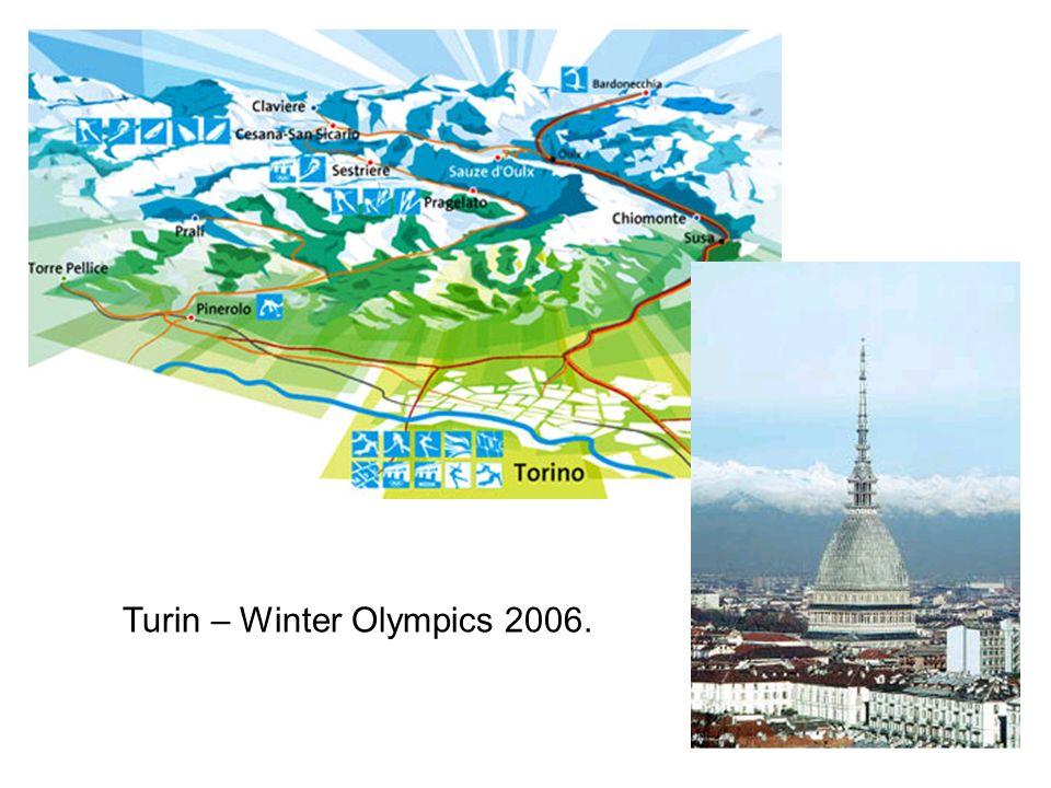 Turin – Winter Olympics 2006.