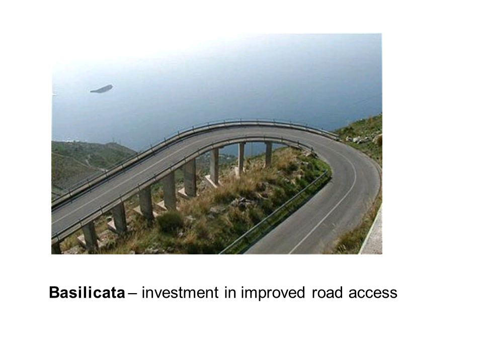 Basilicata – investment in improved road access